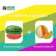 Combo Pack of Seeds (Watermelon & Muskmelon)