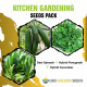 Spinach, Fenugreek and Cucumber Seed (Combo Pack)