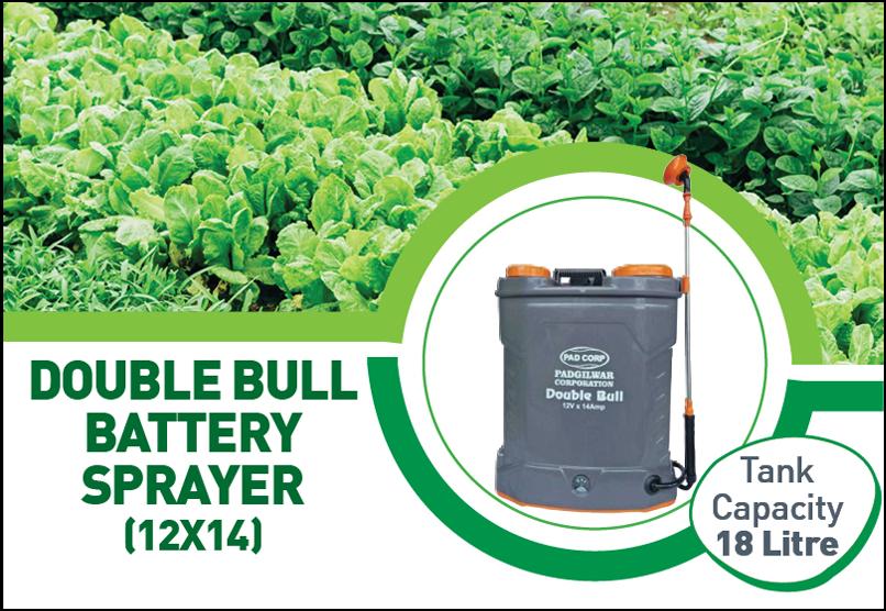 Padcorp Double Bull Battery Spray Pump